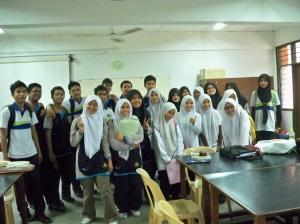 kem bersama pelajar MRSM Taiping